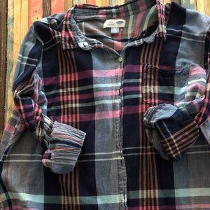 XXL old navy button up shirt